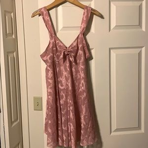 VTG 90s VICTORIA'S SECRET sheer babydoll nightie